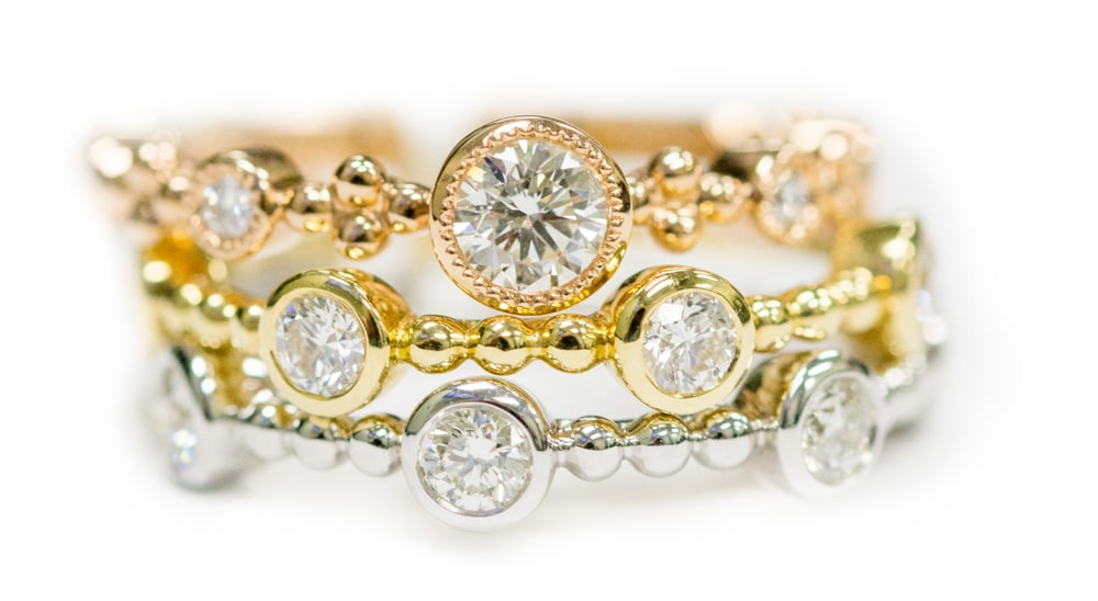 Tribute Collection Forevermark Stackable Ring