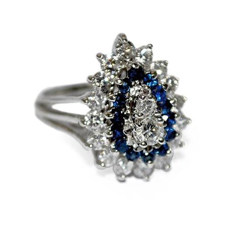 Sapphire Estate Ring