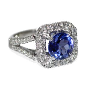 Tanzanite Estate Ring