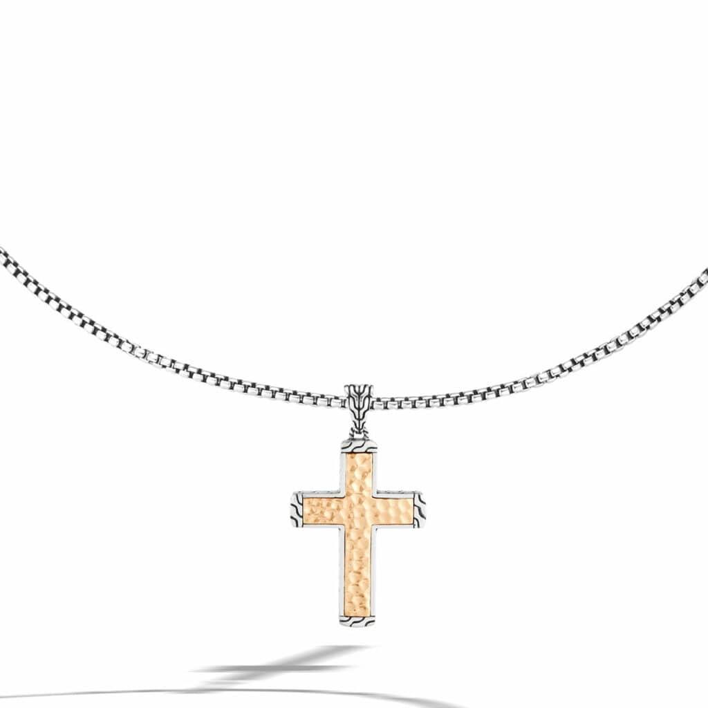 Classic Chain Cross Pendant