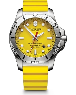 Stainless Steel Yellow Index Dial INOX Pro Diver