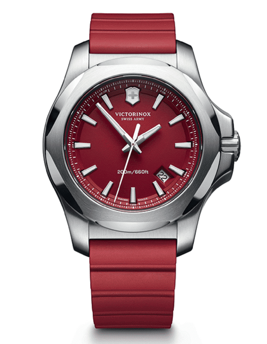 Stainless Steel Red Index Dial INOX Pro Diver