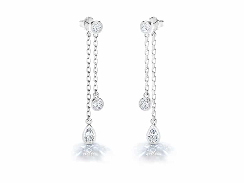 Tribute Collection Forevermark Earrings