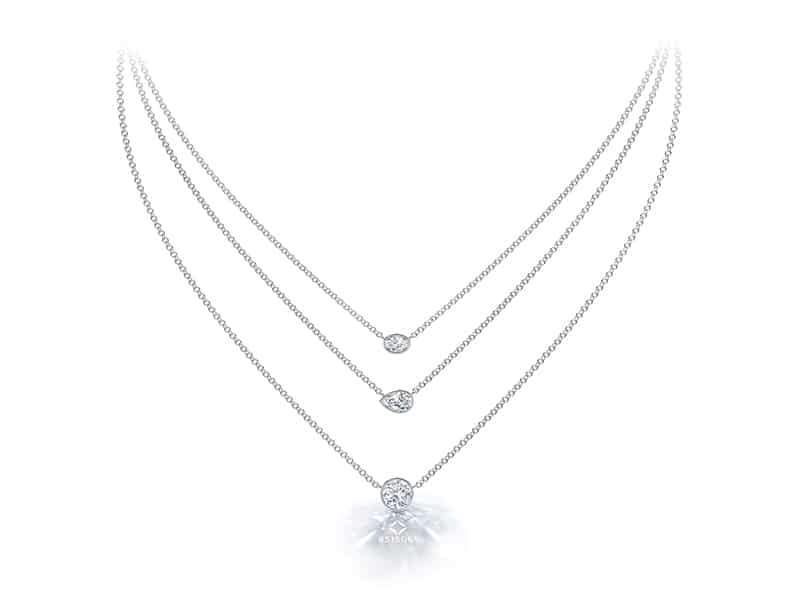Tribute Collection Forevermark Pendants