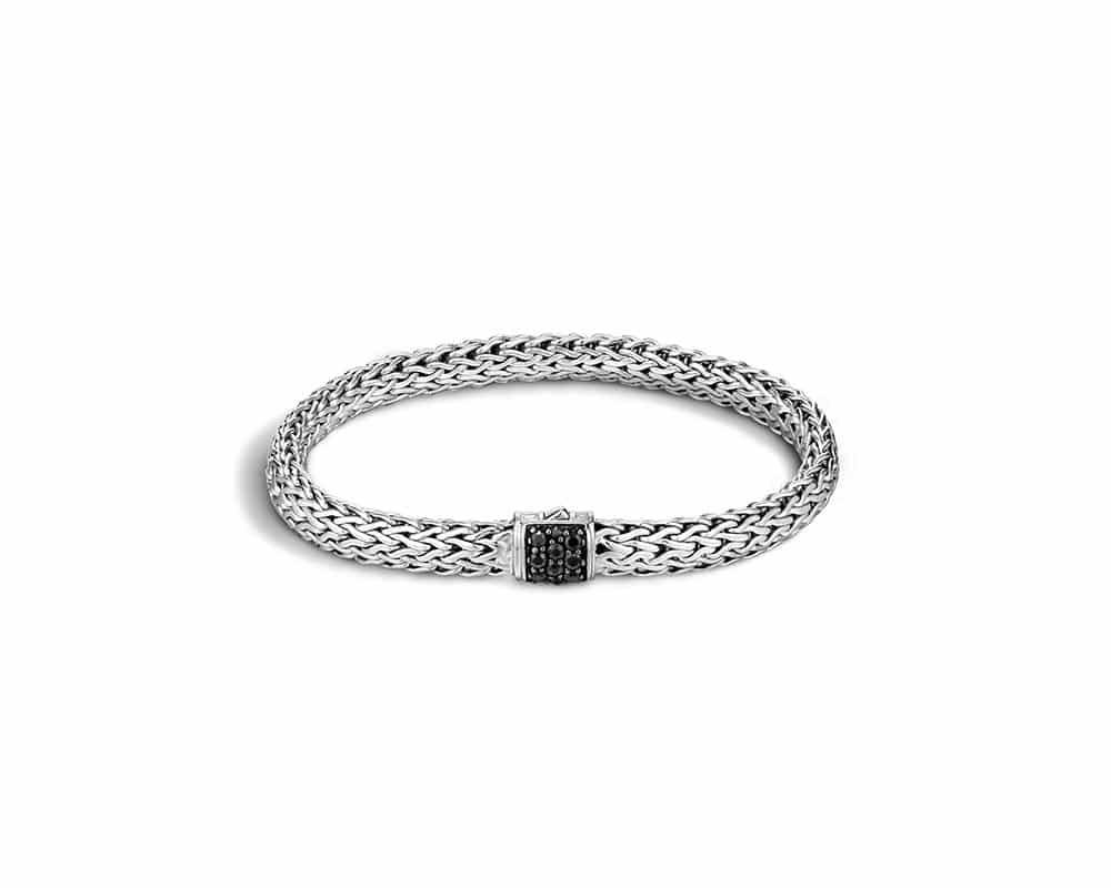 Sterling Silver Black Sapphire Bracelet by John Hardy
