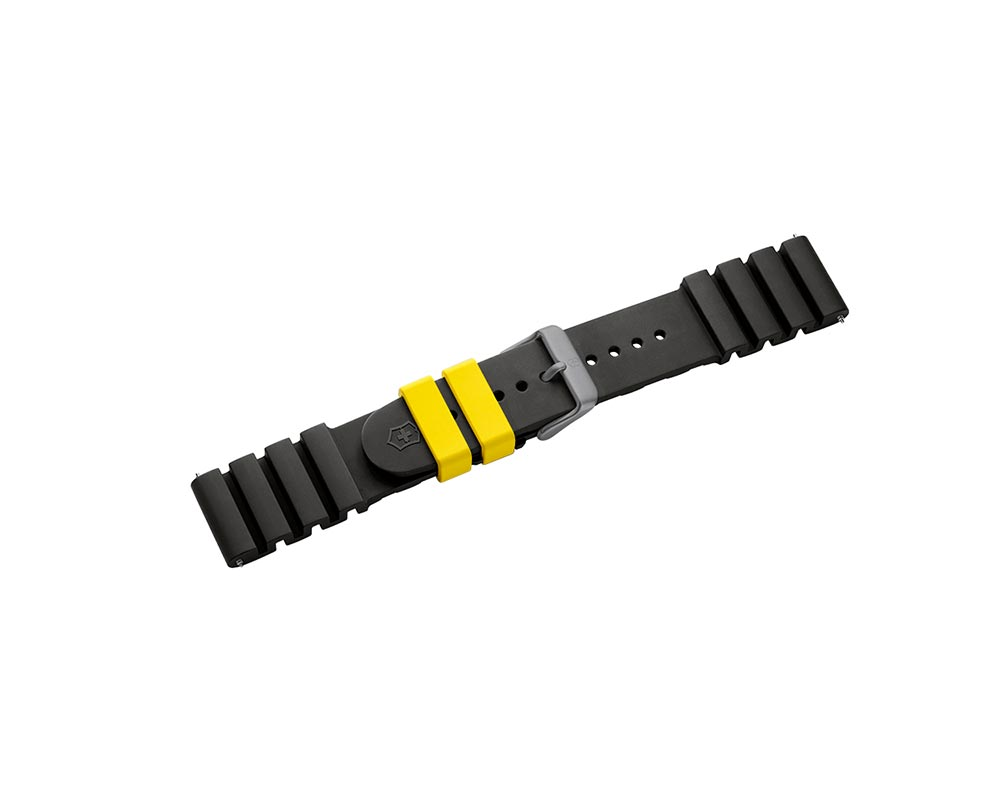 Black INOX Pro Diver Watch Strap