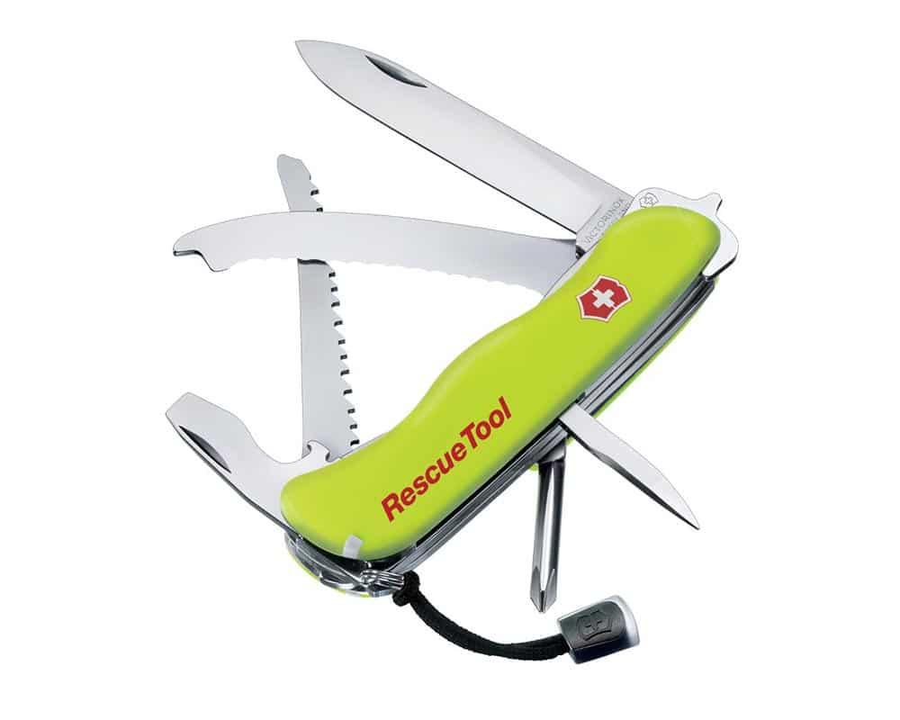 Victorinox Phosphorescent Yellow Rescue Tool