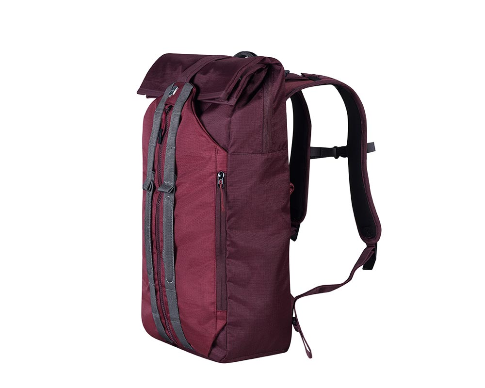 Burgundy Altmont Active Deluxe Duffel Laptop Backpack