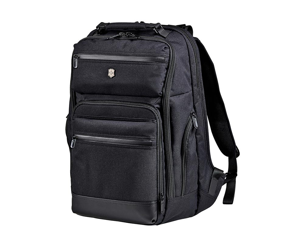 Architecture Urban Black Rath Slim Backpack