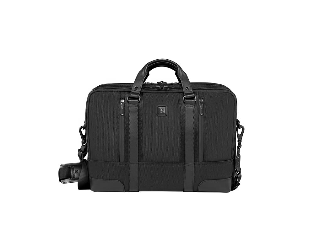Black Lexicon Professional Lexington 15 Laptop Brief