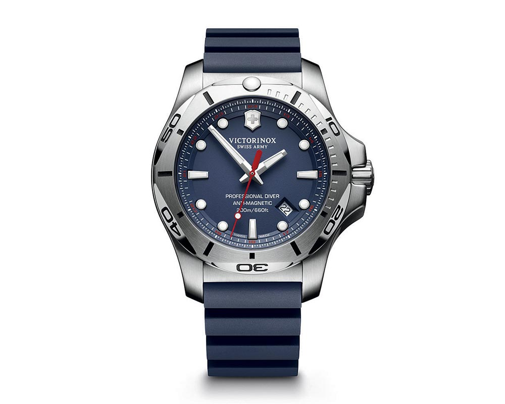 Stainless Steel Blue Index Dial I.N.O.X. Pro Diver