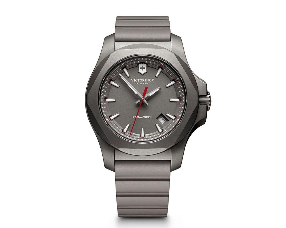 Titanium Gray Index Dial INOX