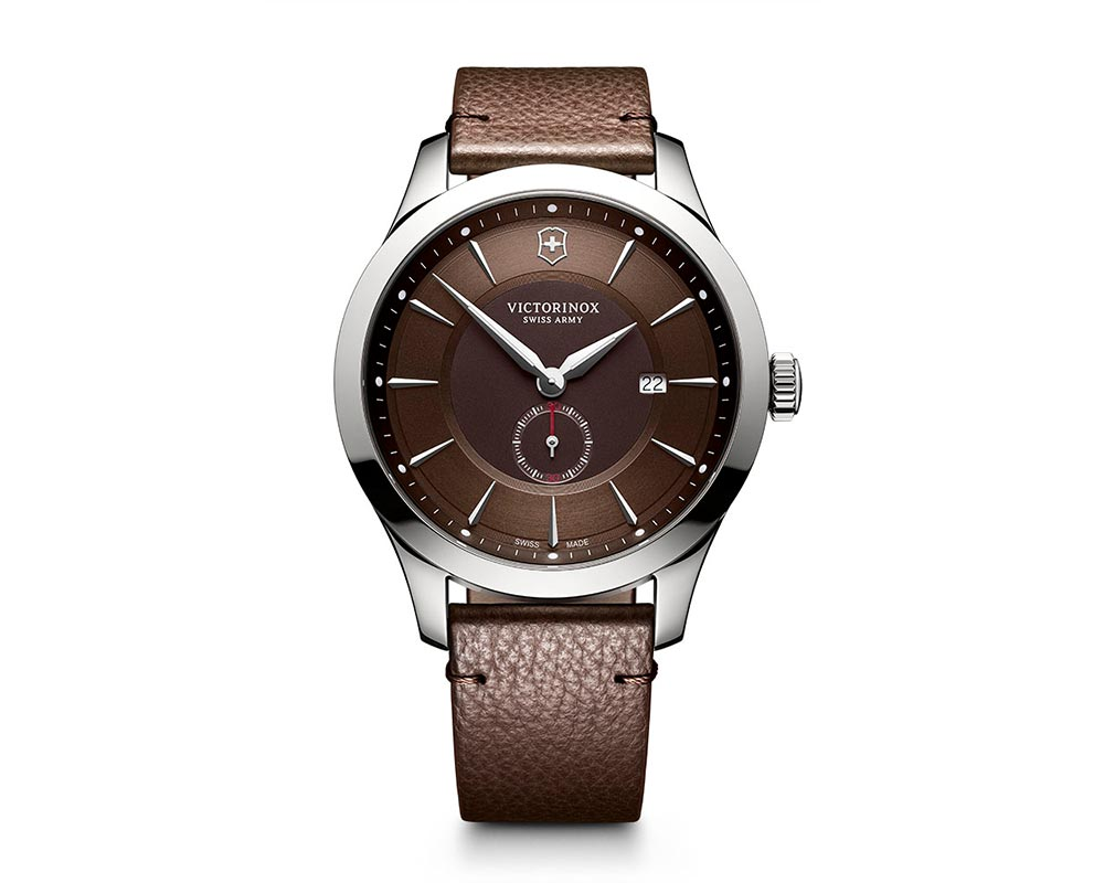 Stainless Steel Brown Index Dial Alliance