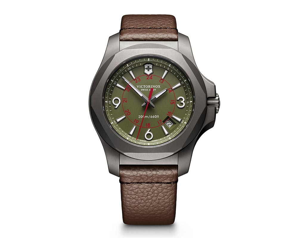 Titanium Green Index/Arabic Dial INOX