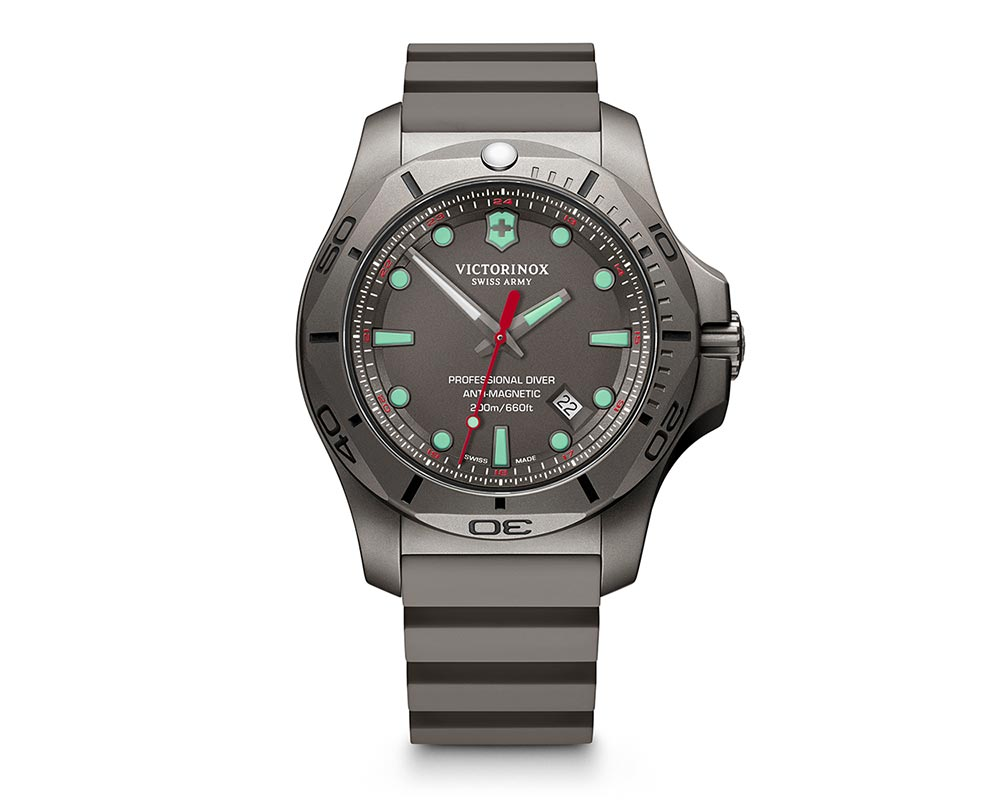 Titanium Gray Index Dial INOX Professional Diver