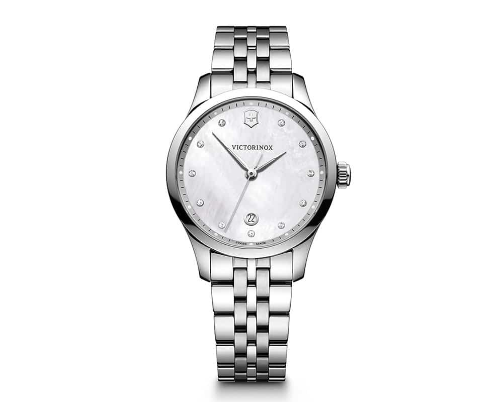 Stainless Steel Mother Of Pearl Diamond Dial Alliance