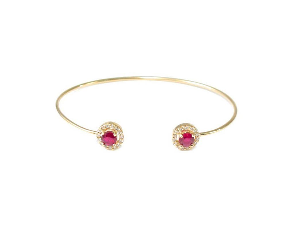 Ruby Fashion Bracelet