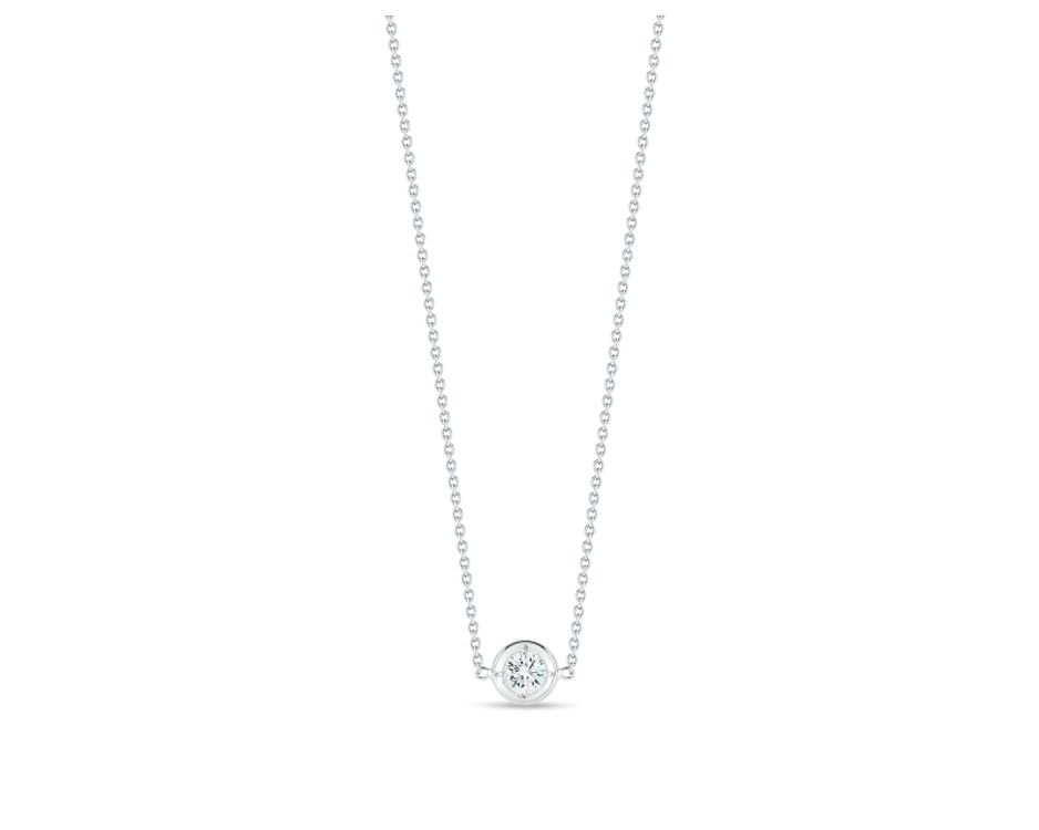 18Kt One-Station Diamond Necklace