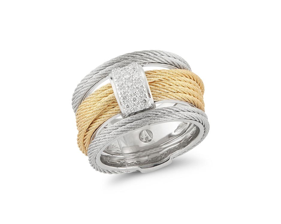 Stainless Steel 18k Fashion Ring