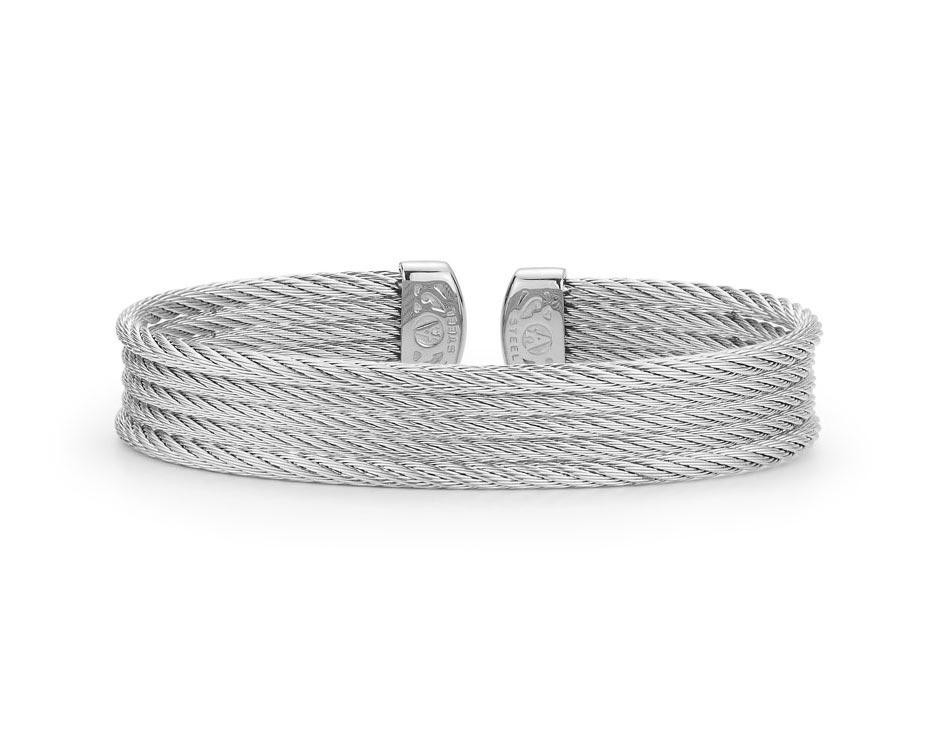 Cable Cuff Bracelet