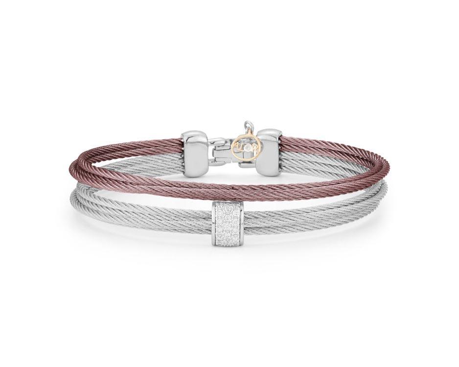 Stainless Steel Multi-Row Bracelet