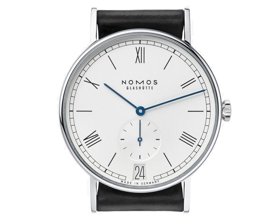 NOMOS LUDWIG 37.5mm STAINLESS STEEL CASE Watch WITH ROMAN NUMERAL DIAL 231