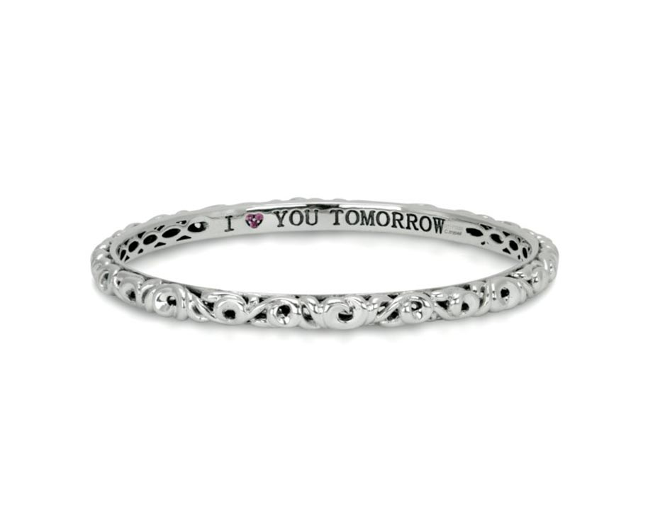 """I Love You Tomorrow"" Bangle"