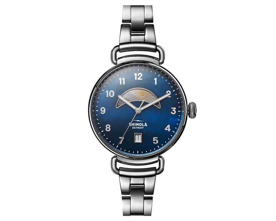Stainless Steel Midnight Blue Watch