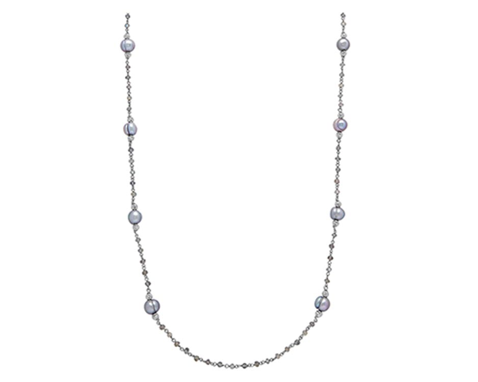 Sterling Silver & Cultured Pearl Necklace