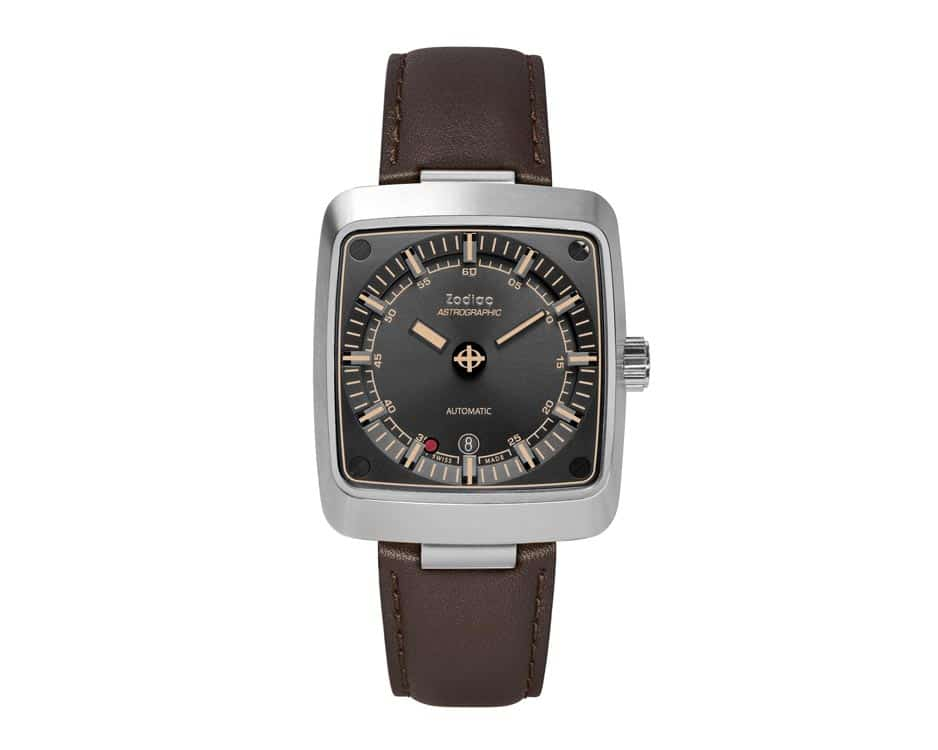 Stainless Steel Back Sunray Watch