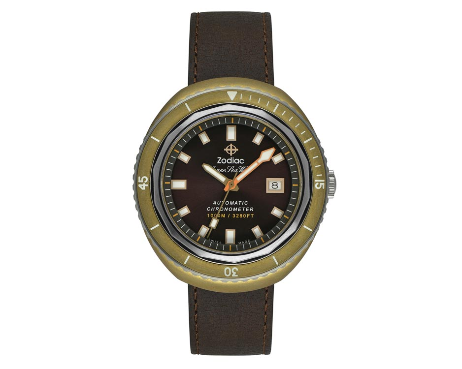 Bronze & Brown Sunray Limited Edition Watch