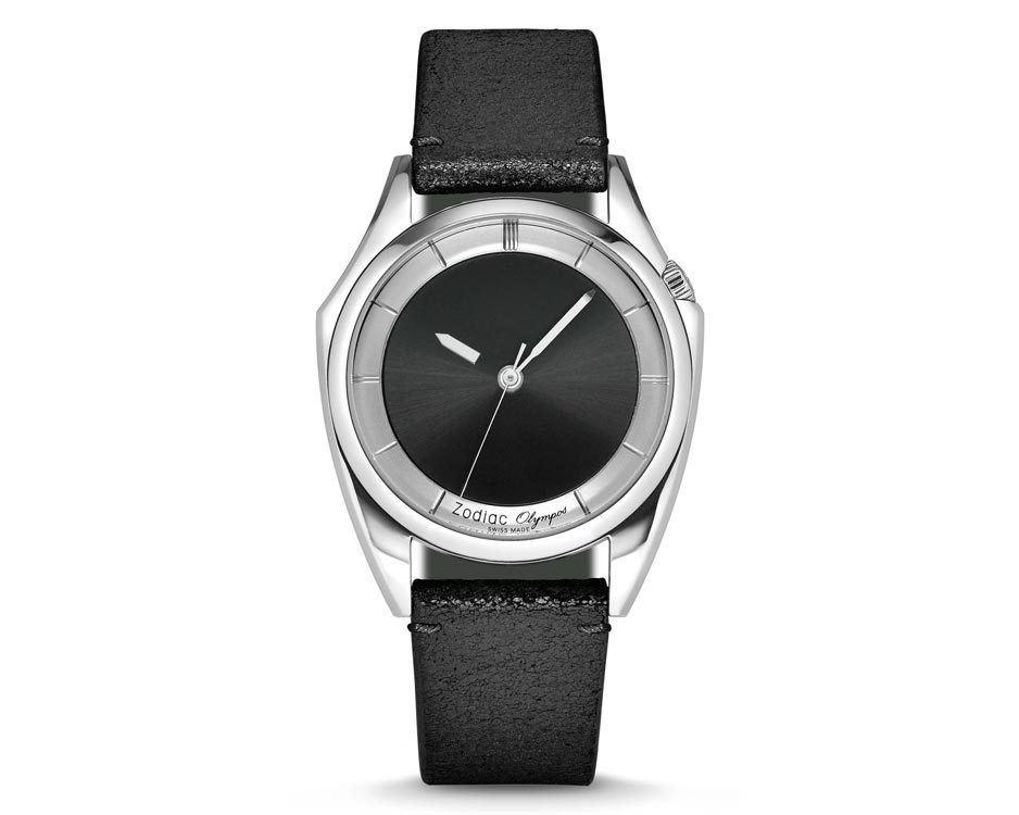Stainless Steel Black Sunray Limited Edition Watch
