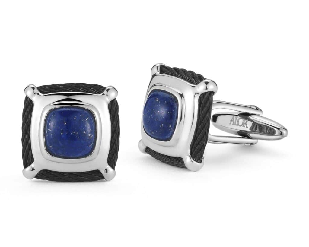Gents Cuffs with Lapis