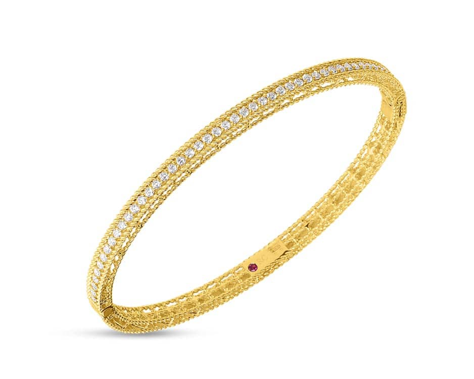 18Kt Symphony Bangle