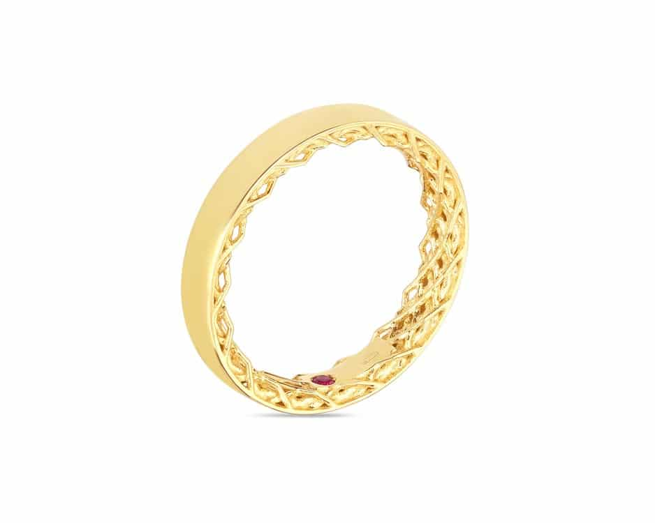 18Kt Symphony Golden Gate Ring
