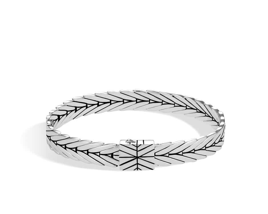 Sterling Silver Modern Chain Bracelet