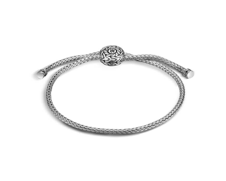 Sterling Silver Pull-Through Bracelet