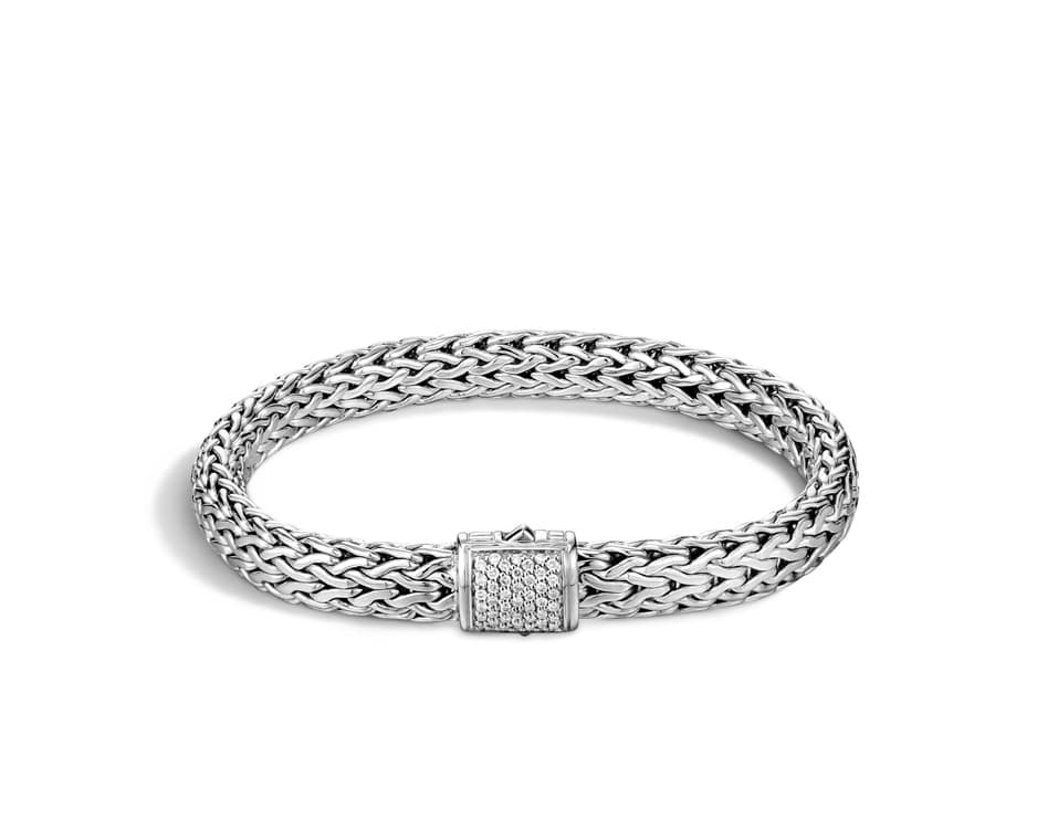 Medium Sterling Silver Classic Chain Bracelet