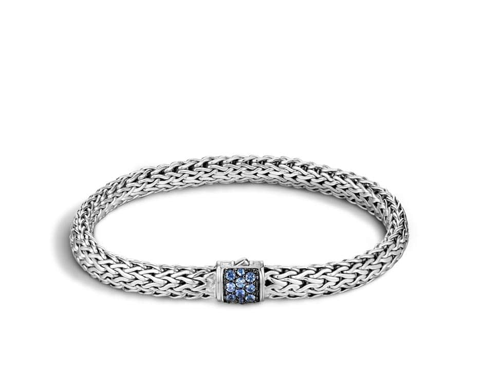 Small Sterling Silver Classic Chain Bracelet