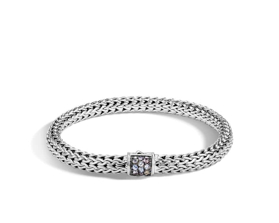 Small Sterling Silver Classic Chain Bracelet by John Hardy
