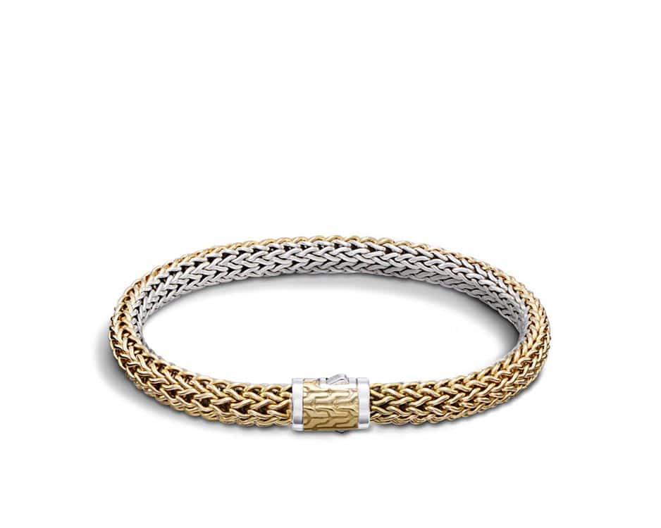 Two-Tone Reversible Bracelet