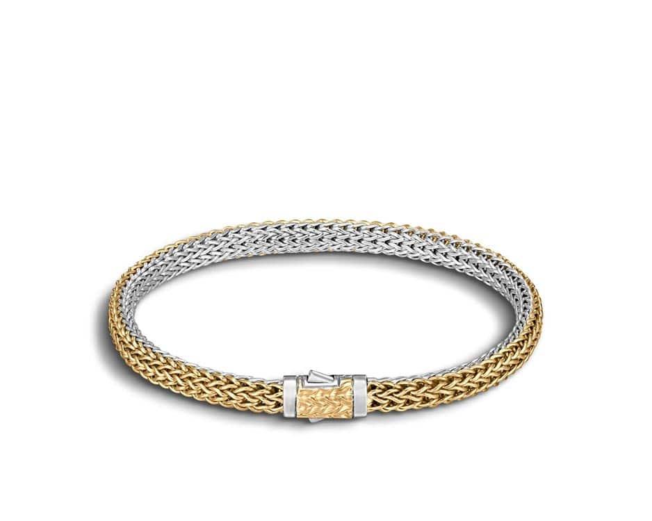 Two-Tone Reversible Bracelet by John Hardy