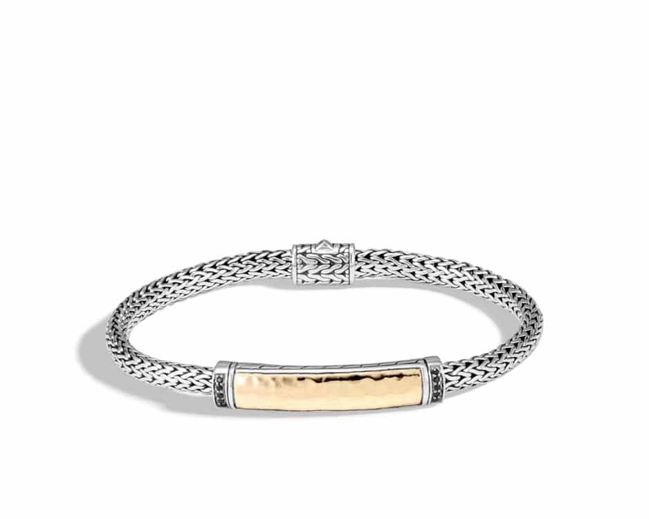 Extra-Small Sterling Silver Hammered Palu Bracelet