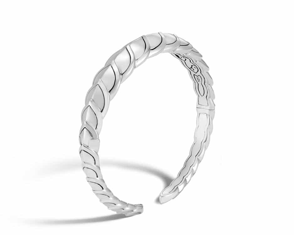 Sterling Silver Legends Naga Flex Cuff