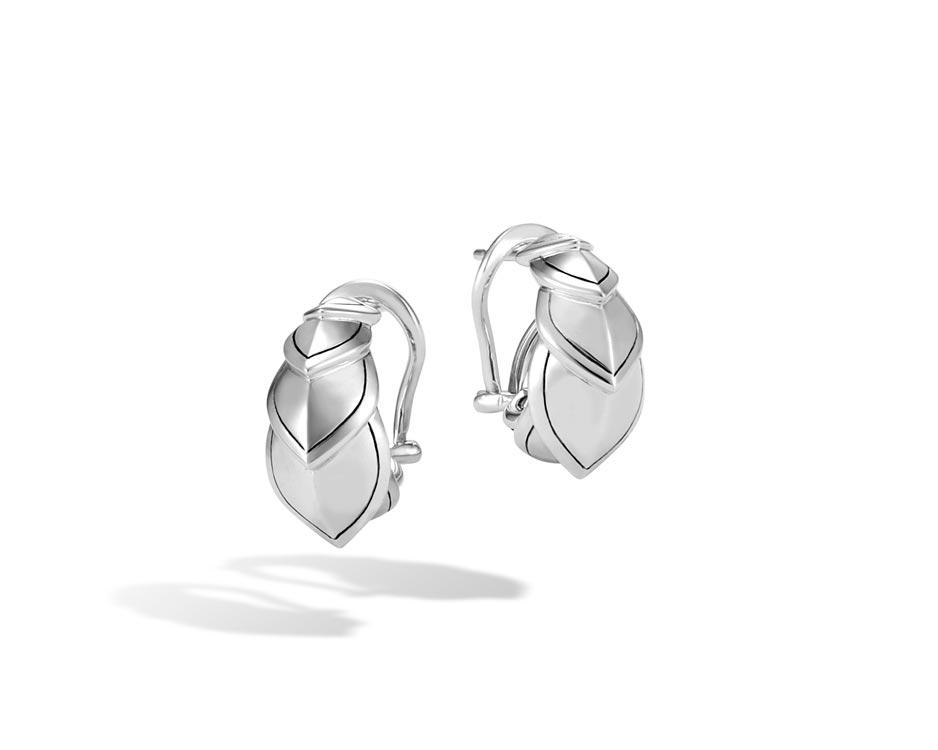 Sterling Silver Legends Naga Buddha Belly Earrings