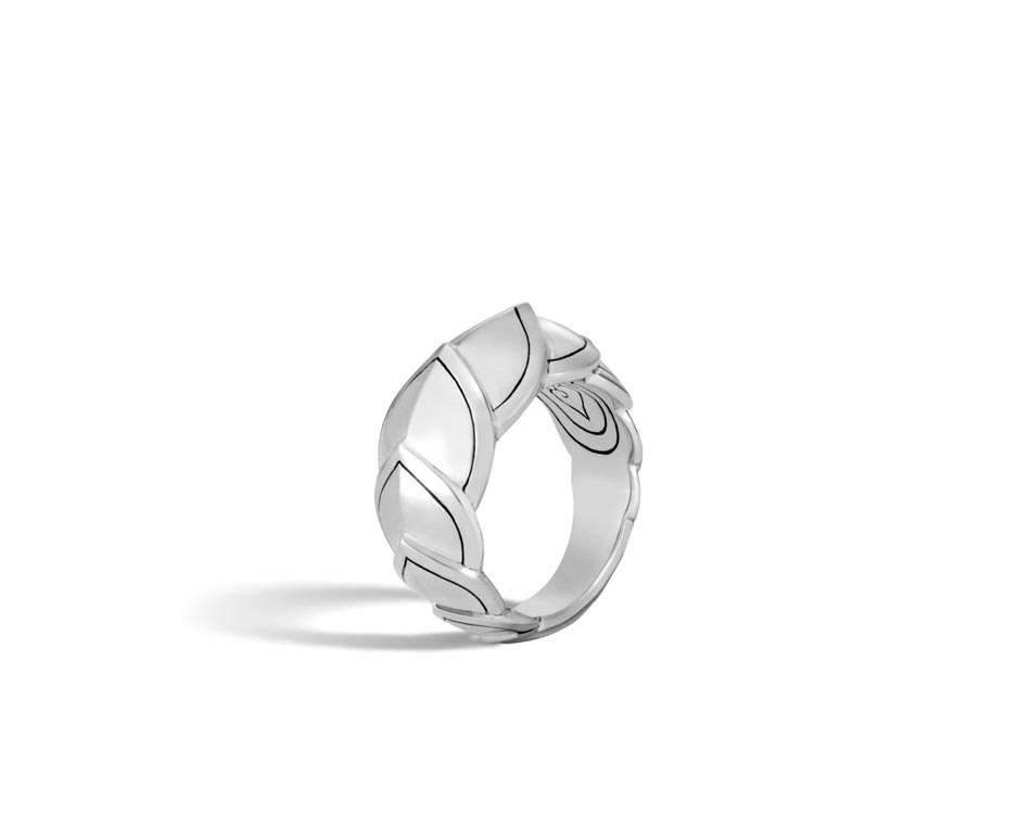 Small Sterling Silver Legends Naga Ring