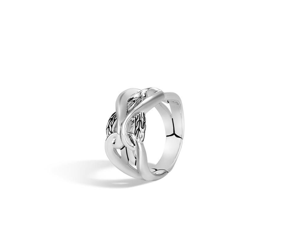 Sterling Silver Asli Link Ring