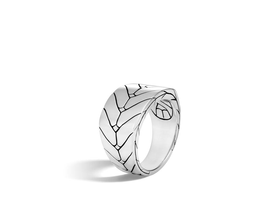 Sterling Silver Modern Band Ring