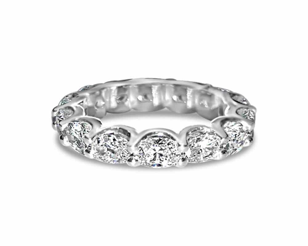 Platinum Eternity Diamond Fashion Ring