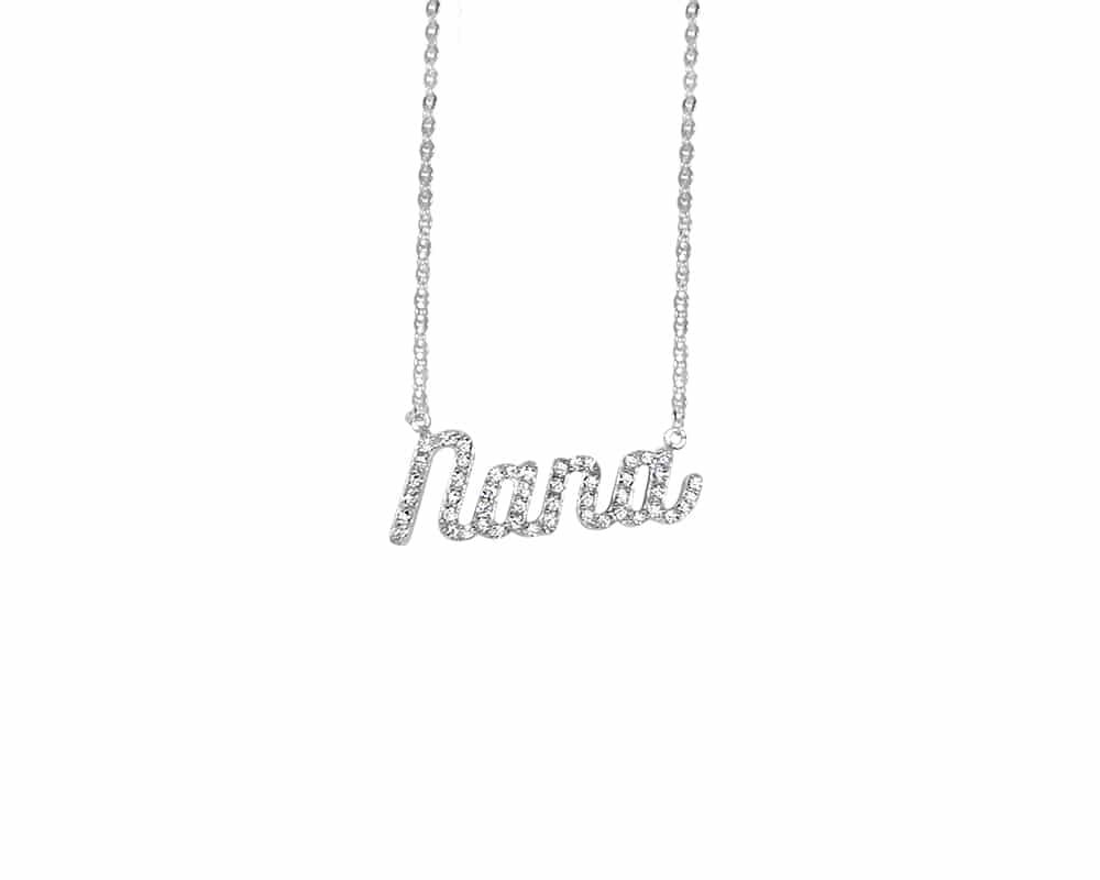 """Custom Nickname Pendant in """"Nana"""""""